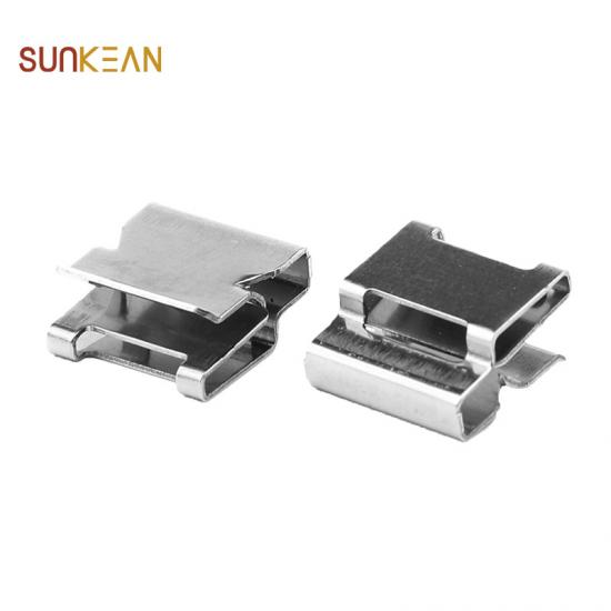 Stainless steel cable tie cable clips